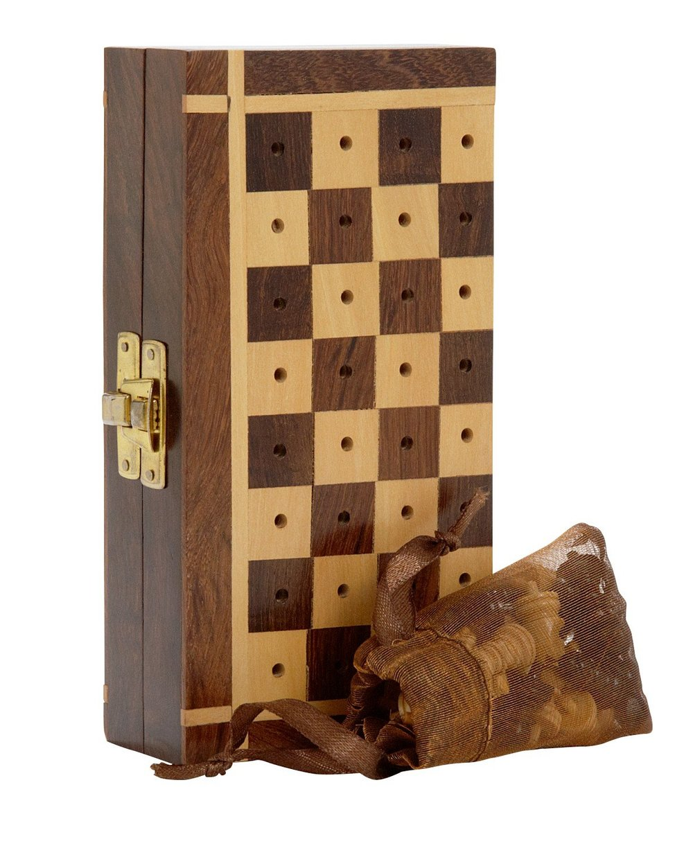 Traveling Chess Set - Ten Thousand Villages | $35 | Use 'STYLEMEFAIR25' for 25% off