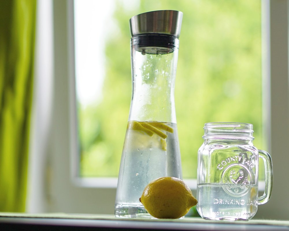 Water and lemon Style Me Fair
