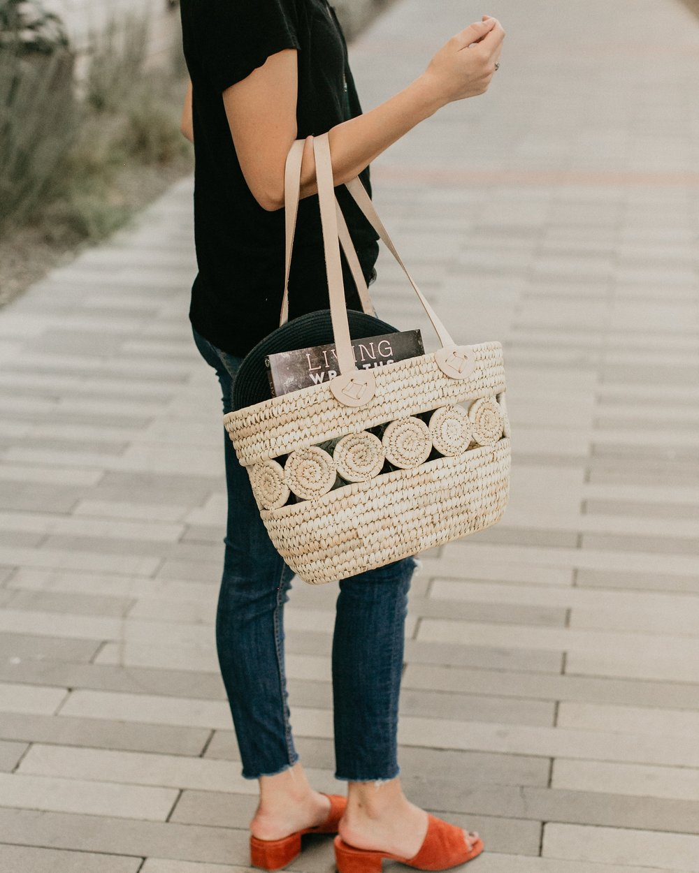 Fair Trade Basket - Ten Thousand Villages | $40 | Use STYLEMEFAIR25 for 25% off one item