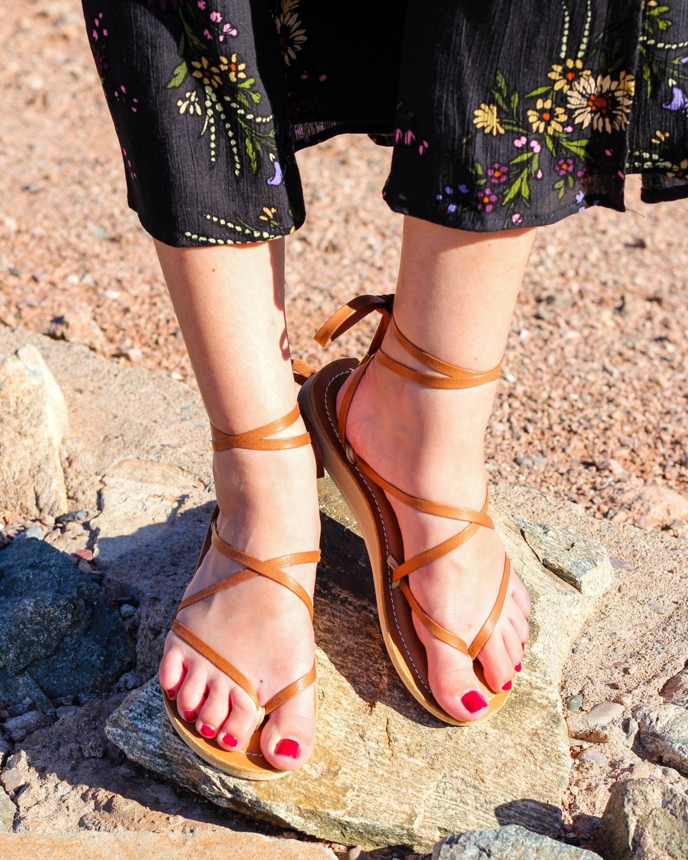 Leather Sandals - Sseko Designs | $65 | Use stylemefair15 for 15% off!