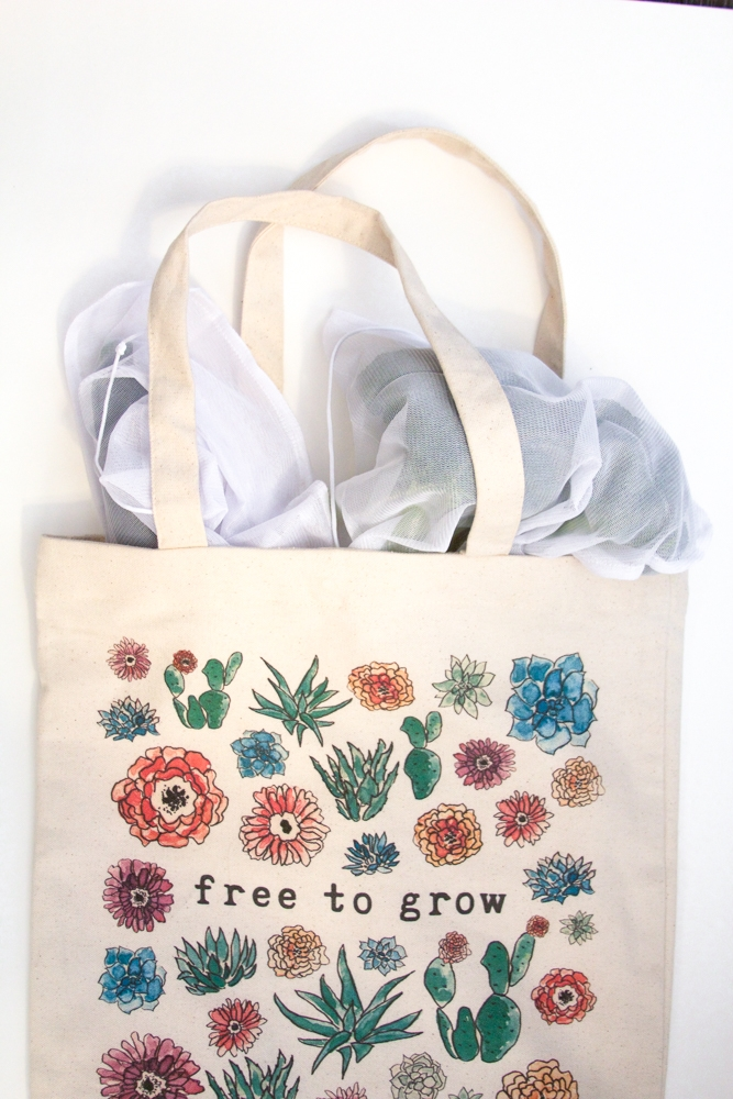 My favorite shopping tote from  The Tote Project!