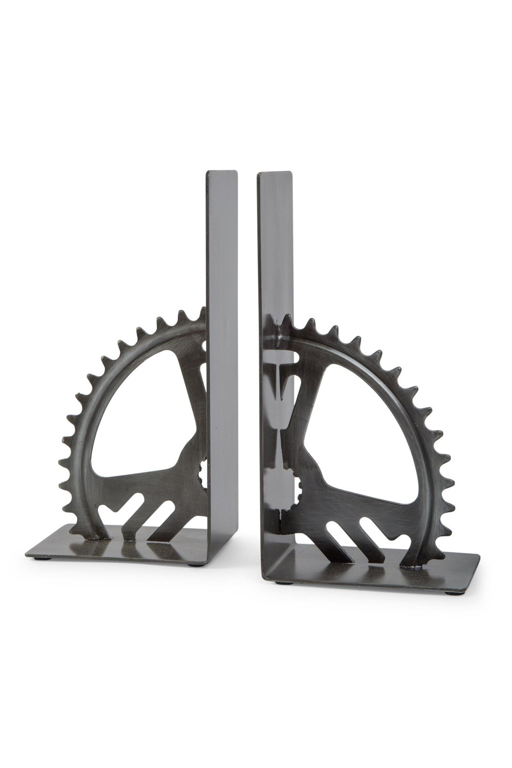 Turning Gears Bookends - Ten Thousand Villages | $30 with discount code
