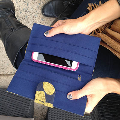 Phone Wallet - Malia Designs | $18 with code carryacause for 20% off
