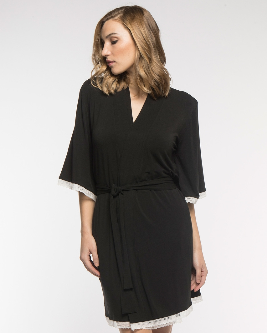 Savannah Lace Robe | Yala Designs - $79 with STYLEMEFAIR18 for 20% off
