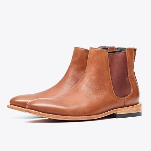 Men's Leather Chelsea Boots - Nisolo   $238