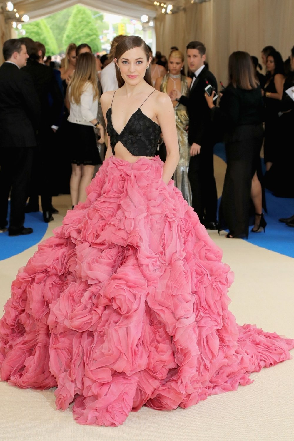 LAURA OSNES IN CHRISTIAN SIRIANO