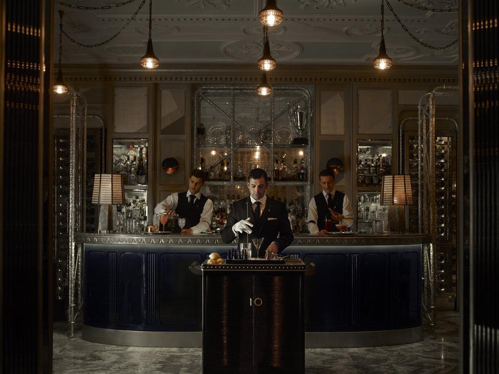Coburg Bar, Connaught Hotel, London