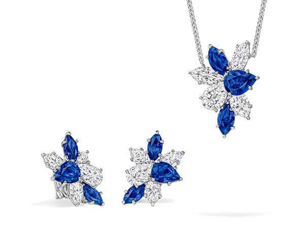 Winston Cluster - Sapphire Earrings and Pendant.jpg