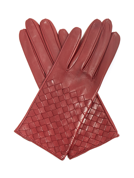 Bottega Veneta   Leather gloves, £290