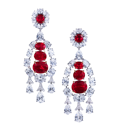 E9212 - White gold Burma ruby (12.61ct) and diamond (14.29ct) chandelier earrings.jpg