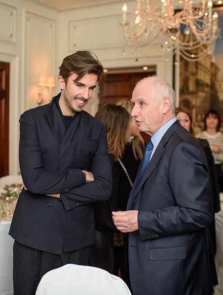 Teo Van Den Broeke (GQ) and Frank Zilbertweit