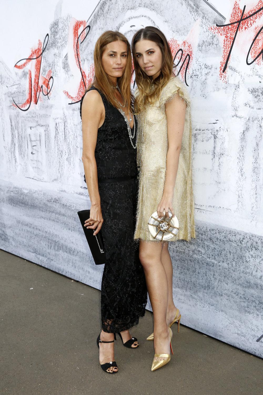 Yasmin and Amber LE BON_Serpentine Summer Party_London_June 19th.JPG