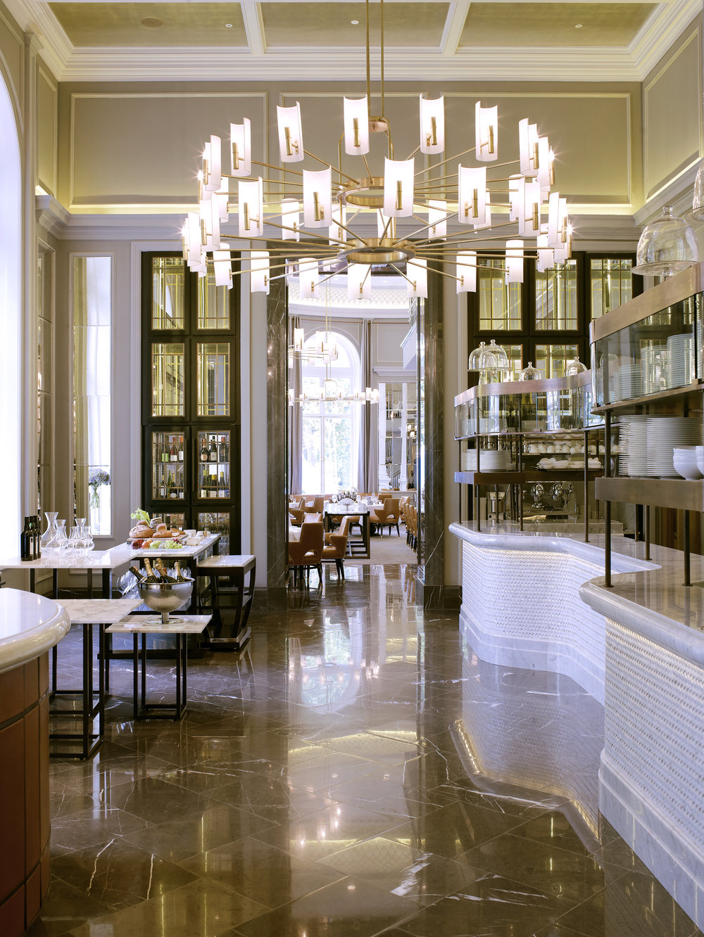 The Northall Food Theatre to Dining Room Corinthia Hotel London.jpg