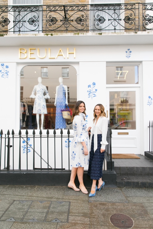 Natasha and Lavinia co-founders of Beulah
