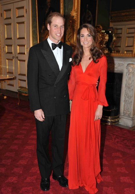 Catherine Duchess of Cambridge wearing Beulah