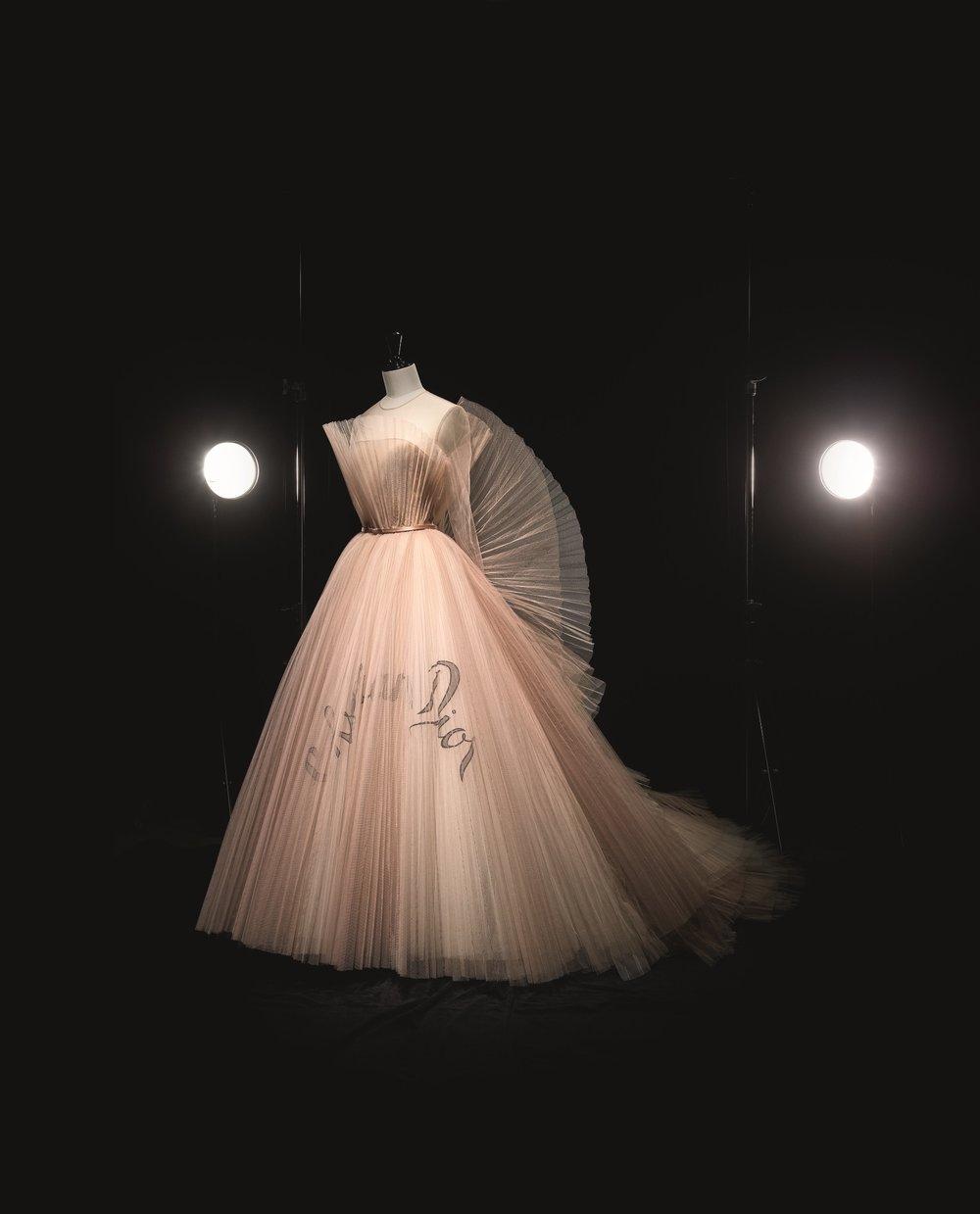 Christian Dior by Maria Grazia Chiuri (b.1964), Dress, Haute Couture, SpringSummer 2018. Photo (c) Laziz Hamani. Laziz Hamani. Dior Héritage collection, Paris.jpg