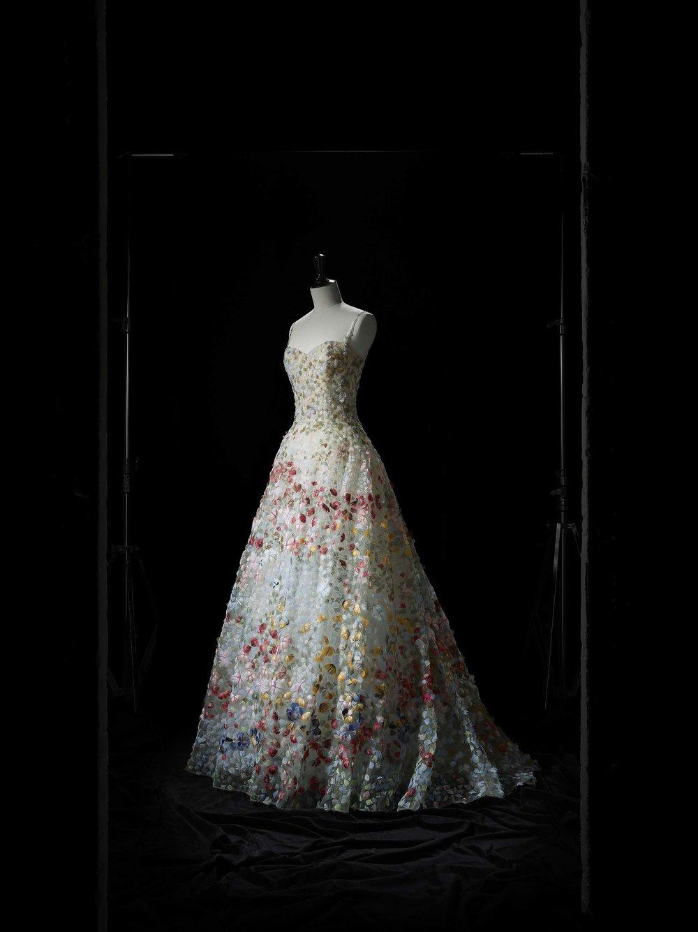 Jardin fleuri bustier dress, Spring-Summer 2017 Haute Couture collection. Christian Dior by Maria Grazia Chiuri. Dior Héritage collection, Paris. Photo © Laziz Hamani.jpg