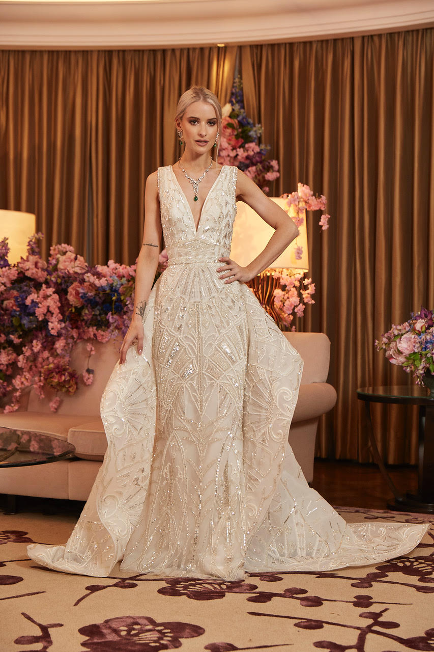 Dress by Zuhair Murad at The Wedding Club   thewedding-club.co.uk