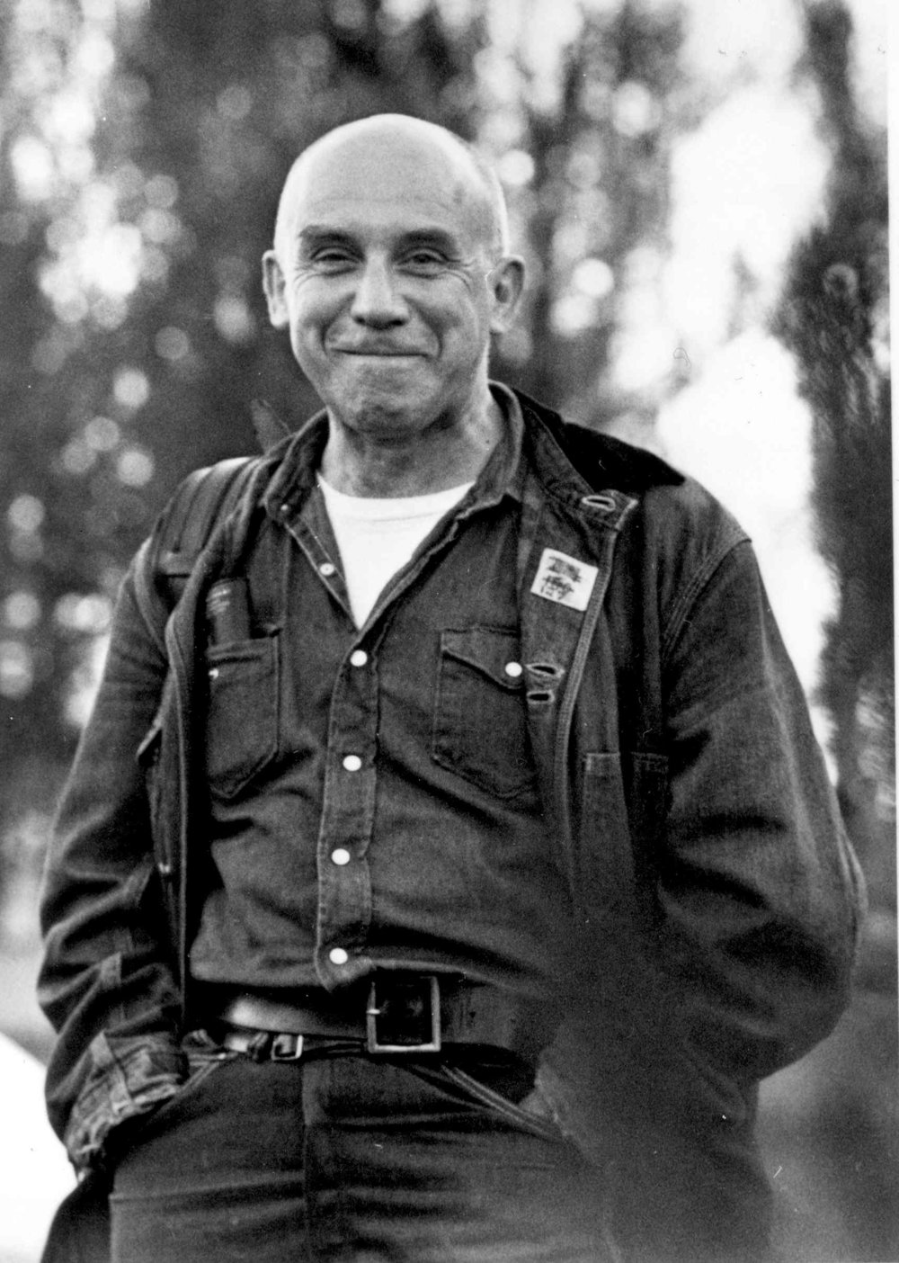 If you're interested in learning more about Thomas Merton check out  this documentary  on him, ask one of our staff for a book recommendation, or read  his Wikipedia page  like a normal person.