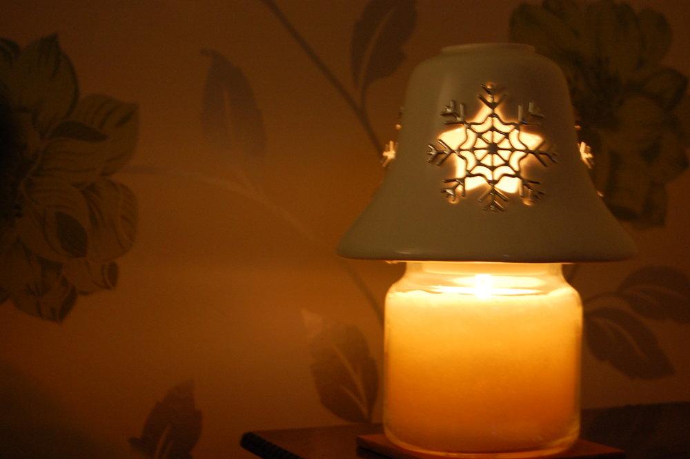 My Christmas candle