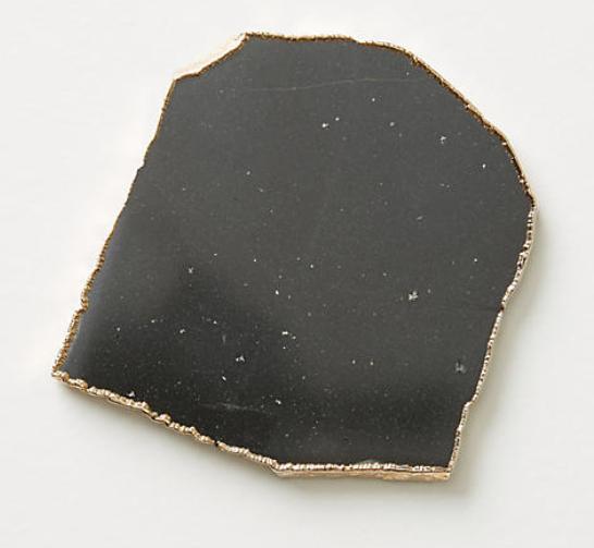 Black Quartz Coaster
