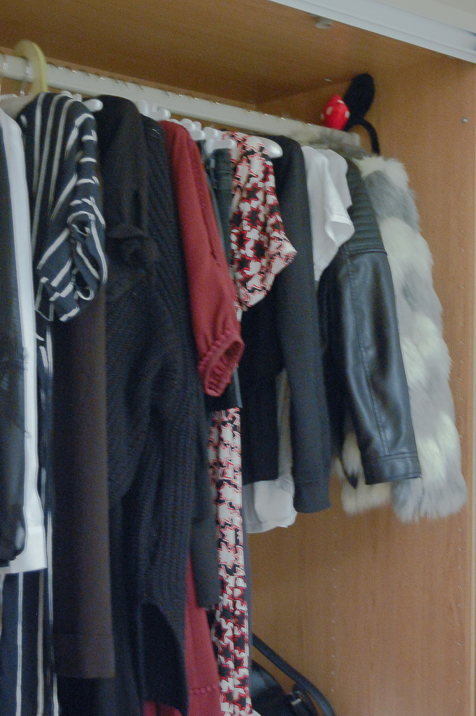 The state of my current wardrobe
