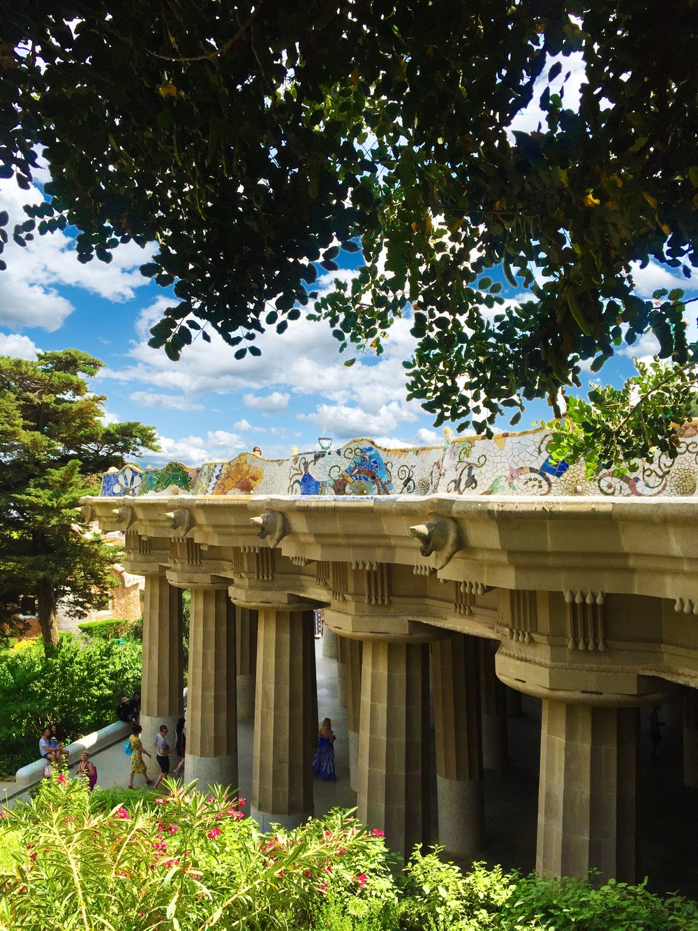 Park Guell ~ Columns.JPG