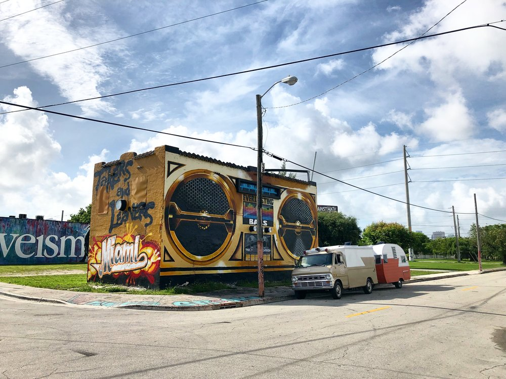 Wynwood Walls - Miami FL // June 15, 2018We just HAD to kick in Miami one more time. This go round we interviewed Diego Orlandini of Wynwood Coloring Book and Aimful Media, and Lolo Reskin of Sweat Records and PBS' Art Loft. Stay tuend for a mini-doc from Yahoo News on this excursion!