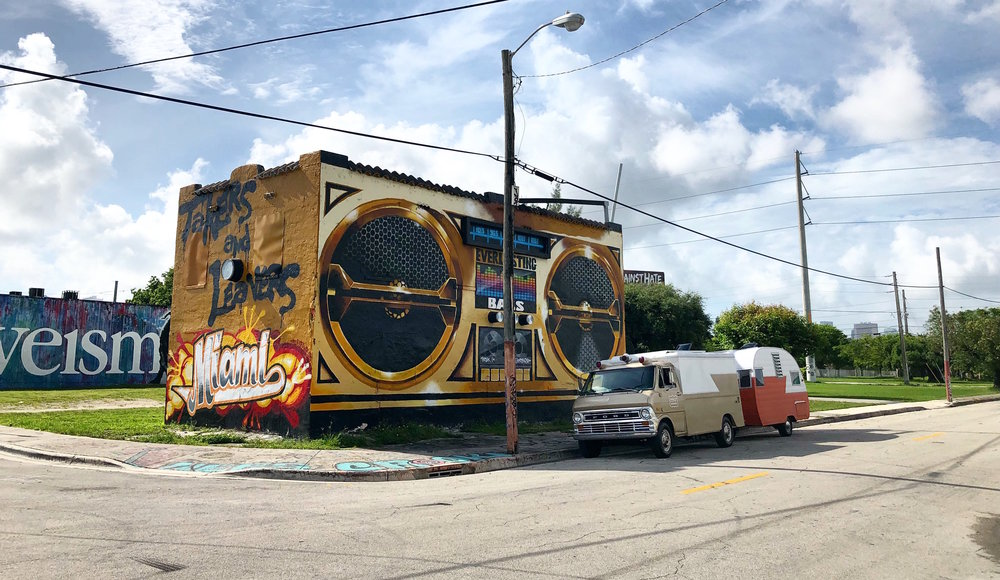 - Miami has the best murals in the world right here in the Wynwood neighborhood. You must have heard of Wynwood Walls. It's a mecca for muralists, graffiti artists and I was here for Art Basel 2017 and it was madness. Like I couldn't get cell service because every street was a mob of selfies being uploaded.