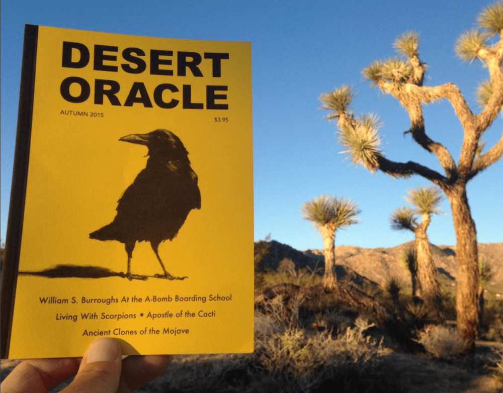 The Voice of the Desert - Check out more episodes of Desert Oracle and find out everything you ever wanted to know about host Ken Layne, the mysteries of the high desert and messages from beyond.
