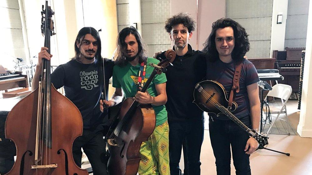 Greg Liszt quartet