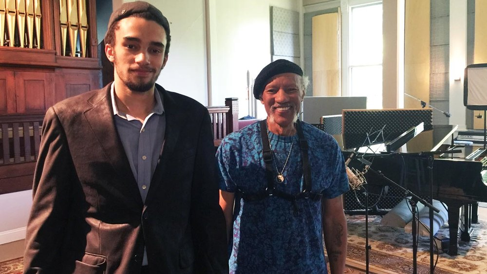 Khalif and Charles Neville duo session