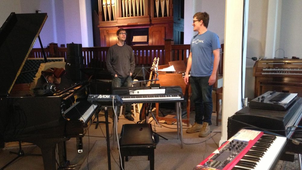 Skyfoot - Greg Loughman and bandleader Eric Mcewan