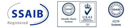 SSAIB, Approved, Commercial, Domestic, Intruder Alarm, CCTV, Systems, Devon.