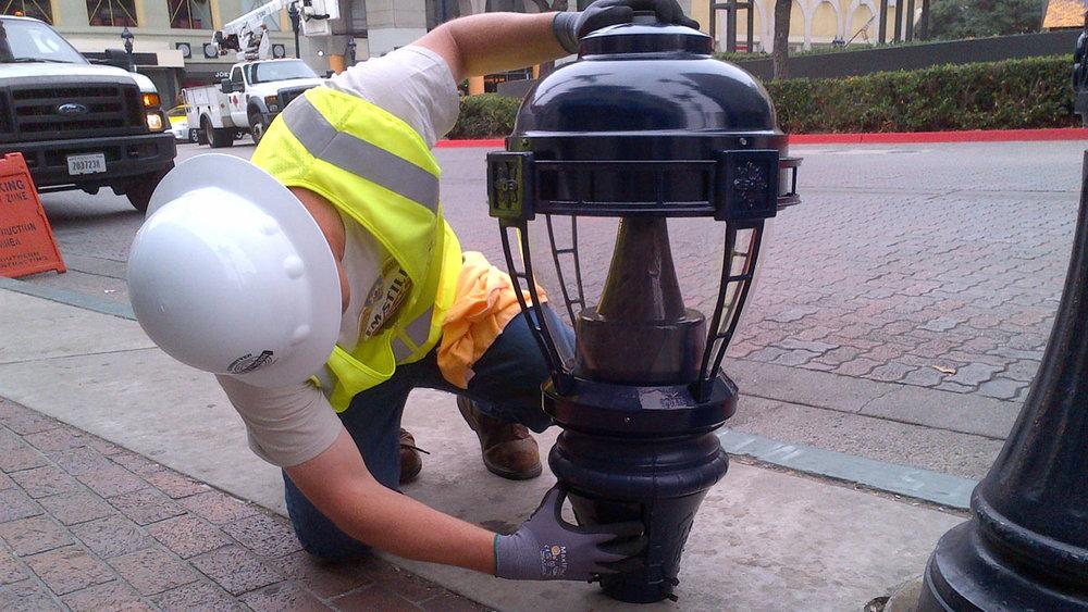 City of San Diego Streetlight Conversion -