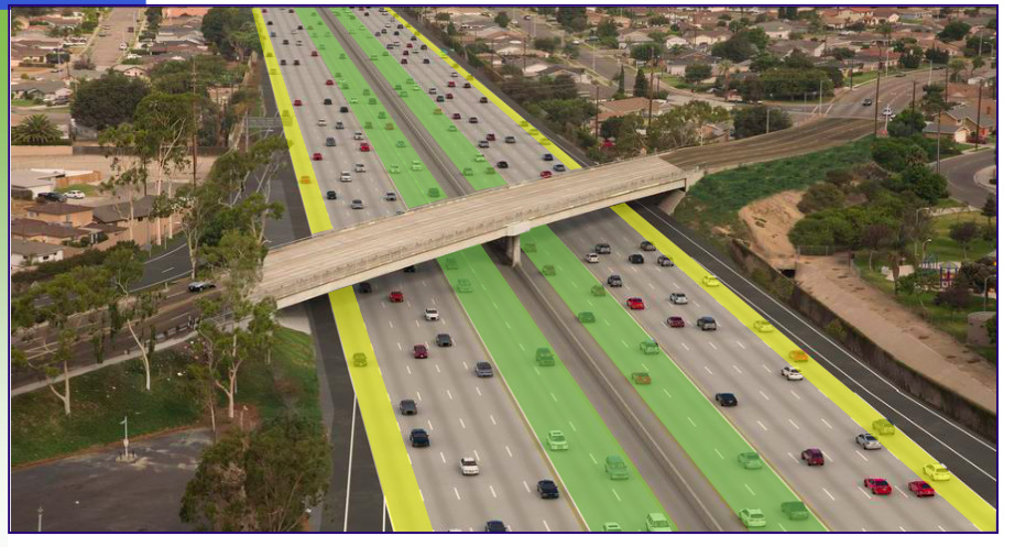 I-405 Improvement Project (SR-73 to I-605) for the Orange County Transit Authority -