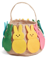 Rainbow Bunny Basket