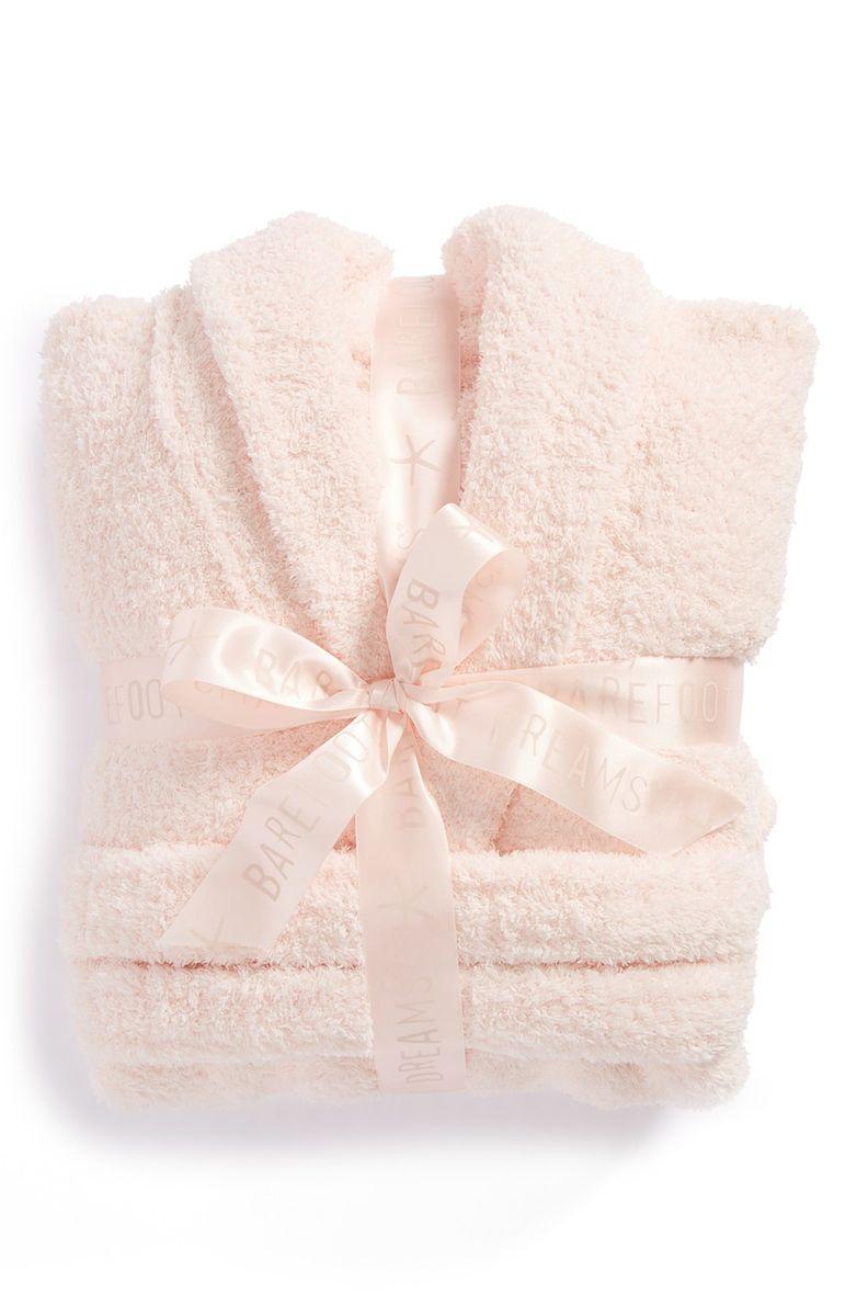 Plush Pink Robe