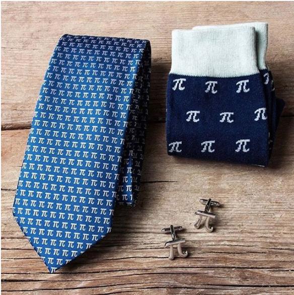 Pi Tie & Sock Set