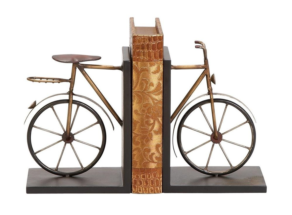 Bicycle Metal Bookends
