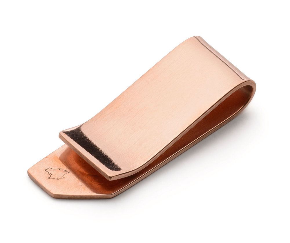 Handmade Copper Money Clip