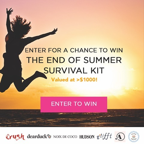 Hey there! We've partnered with a few of our friends to bring you the ULTIMATE end of summer survival kit valued at over $1000! Click on the link in our bio ☝️to enter to win! . . . . #giveaway #giveaways #summer #endofsummer #backtoschool #backtoschoolgiveaway #survivalkit #beach #beachbody #sunkissed #sunsetbeach #sunsets #sunset #gift #gifts #giftideas #giftsforher #giftinspiration #pursuepretty #inspirations #carpediem #pretty #summer2017 #palmtrees #sand