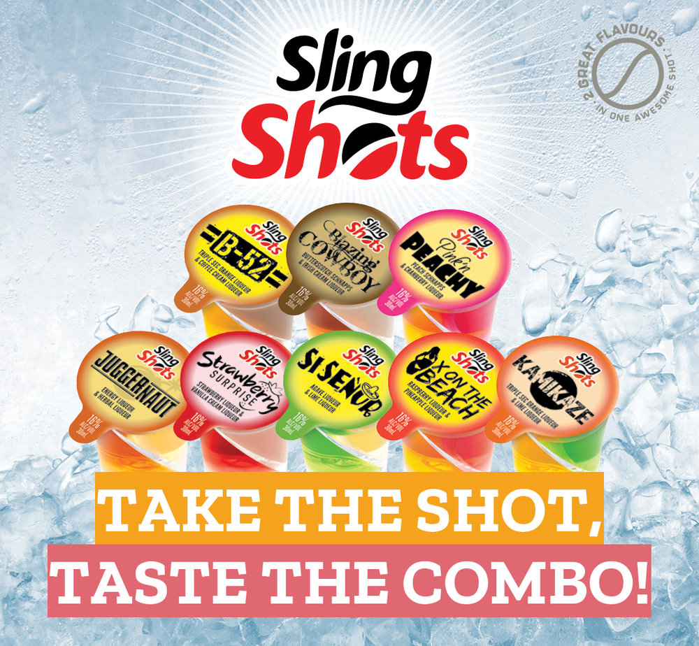 Global Beverage Brands Melbourne Totally Twisted Shots
