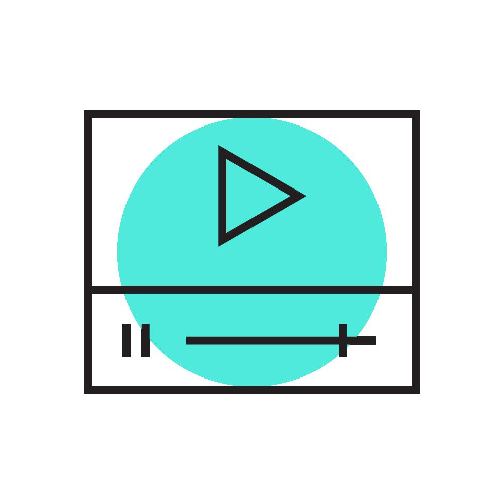 Audiovisual - Imersão dinâmica em motion graphics, produção e edição de vídeos, como clipes, vinhetas e animações, fundamental na comunicação em plataformas streaming e rede sociais. Produzimos também no formato GIF, além da elaboração de trilhas sonorase efeitos sonoros.