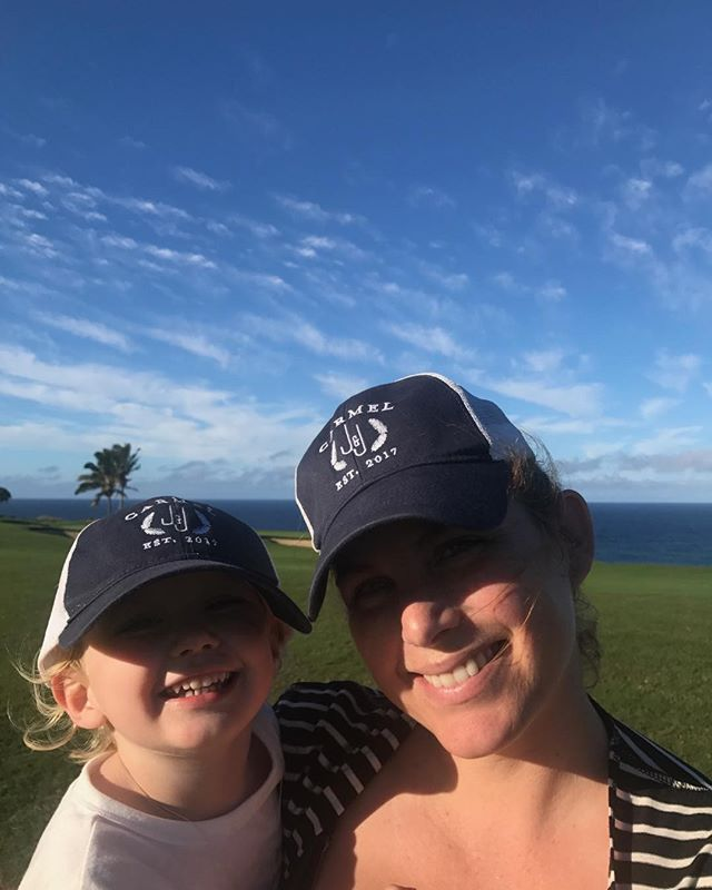 Under a blue sky with my little guy. #Kauai #familyrecharge #VitaminDtime