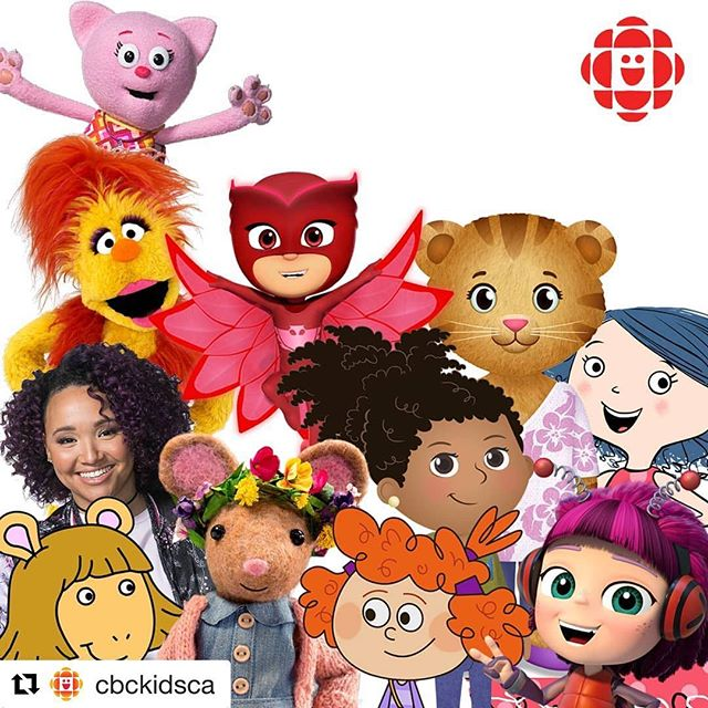 Smart, funny, and, kind female characters unite!!! @gumbootkids @cbckidsca .. my daughter Bunny ( 6 years old) knows all the names of these characters and she says they are intelligent and have good vision and they have good ideas and they are happy and they always find the answer to everything... and they make amazing things. #soundslikethewomeni❤️#let'scelebrateandelevate