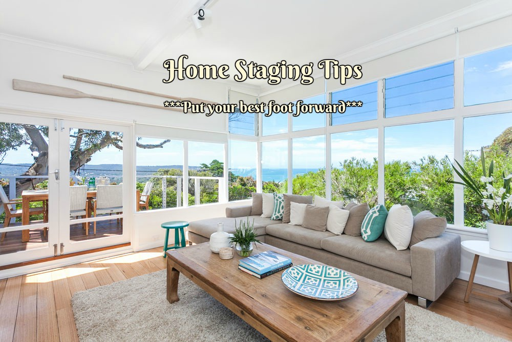 Preparing your house for selling can be daunting and overwhelming task, the longer you have lived in your home the more things you will have to acquired. Staging is about clearing and de-cluttering. Which means family photos, too many paintings; canvases need to off the wall or put in a place where they fit in. The most important thing with staging is to highlight your home strengths and downplay its weaknesses.  Here are some Home staging Tips:  1.Remove any furniture that you can live without for a few weeks  -Make the room look as open and empty possible to make the room feel larger, this is a big plus to the potential buyer. Remove the things that can make the room feel smaller as well any kid furniture.  1.Rent a storage Unit (if it's in the budget)  -The reason I recommend this over just tossing everything in the garage is that a stuffed –full garage can send the message that there isn't enough room in the house to store everything. If you can keep your garage and all of your closets as empty as possible, it creates the feeling an ample storage in your home.  2.Take down super personal décor, but don't get to far  -Take down anything super specific to your family (like family photos, this includes your doll collection etc...) Leave neutral, simple and beautiful décor up, buyers may be much interested in seeing your home.  3.Clean the counters, and keep the most surfaces clean  -The cleaner your counters and tables are, the less distraction there is for potential buyers. Leave some décor out, a totally empty entry table may not be distracting but it also doesn't do your home in any favors.  4.Don't forget about the exterior  -Make sure to make the exterior of the house feel cozy and clean. Clean up the backyard and left the patio and the play area looking nice and neat. Get rid of the trash or left over project materials floating around in the backyard and the workshop and set a fresh new welcome mat by the front door.  5.Set the table  -Put a pretty centerpiec