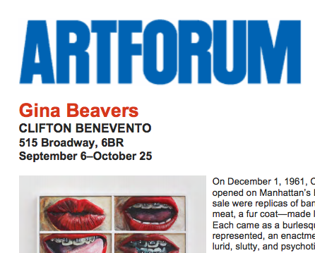 Art Forum, review- 2014