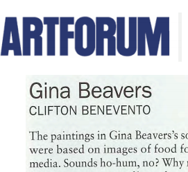 Art Forum, review 2013