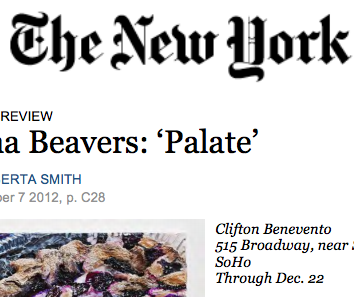 The New York Times, review - 2012